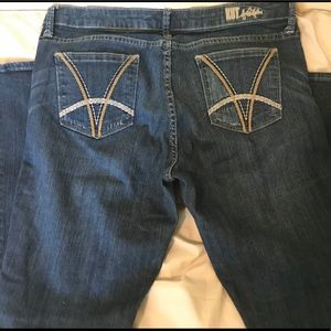 Kut from the Kloth Felicia Baby Bootcut Jeans